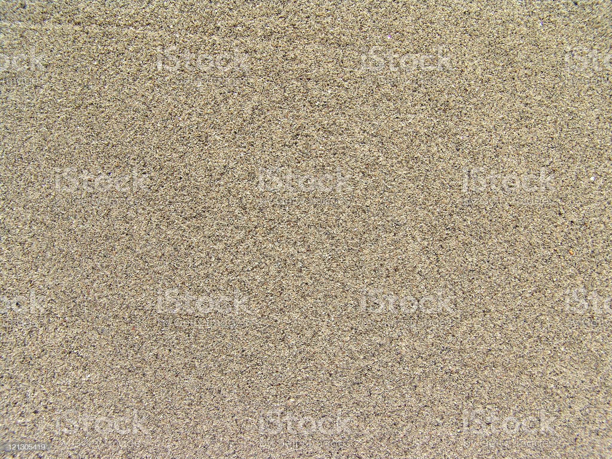 Background image of flat speckled tan sand royalty-free stock photo