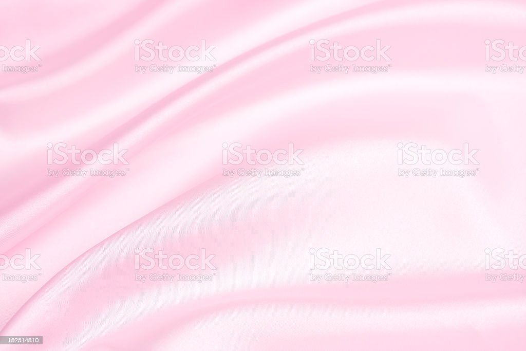 Background image of pink satin stock photo