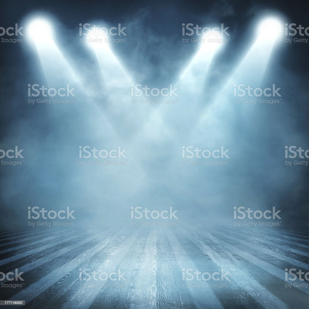 Background in show stock photo