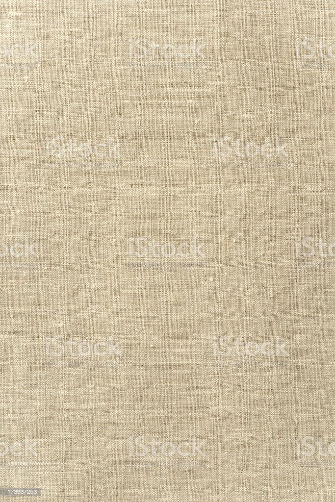 Background - Linen Fabric with lots of Texture, Full Frame. royalty-free stock photo