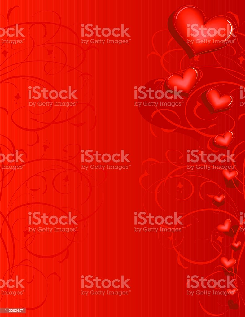 Background 'Love' with lines royalty-free stock photo