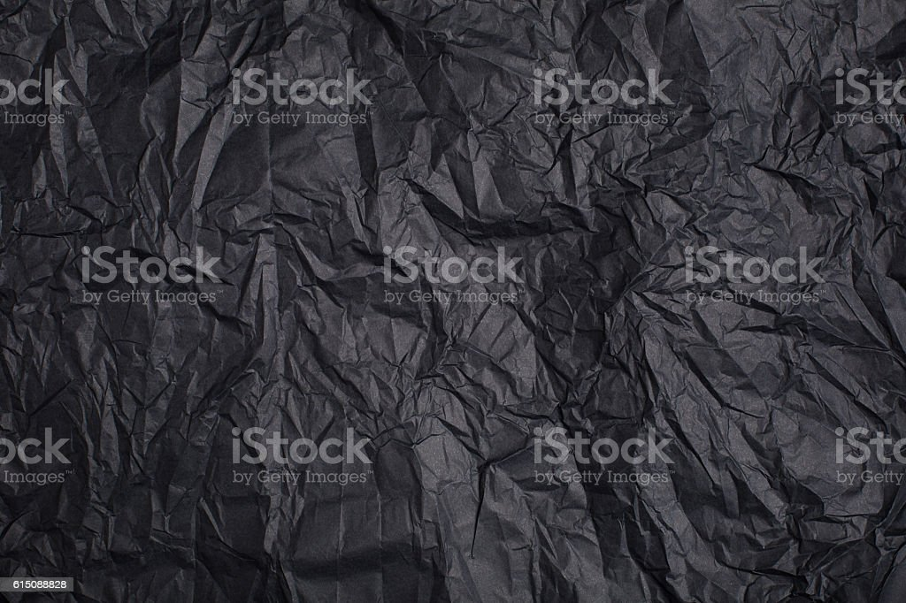 Background made of black paper stock photo