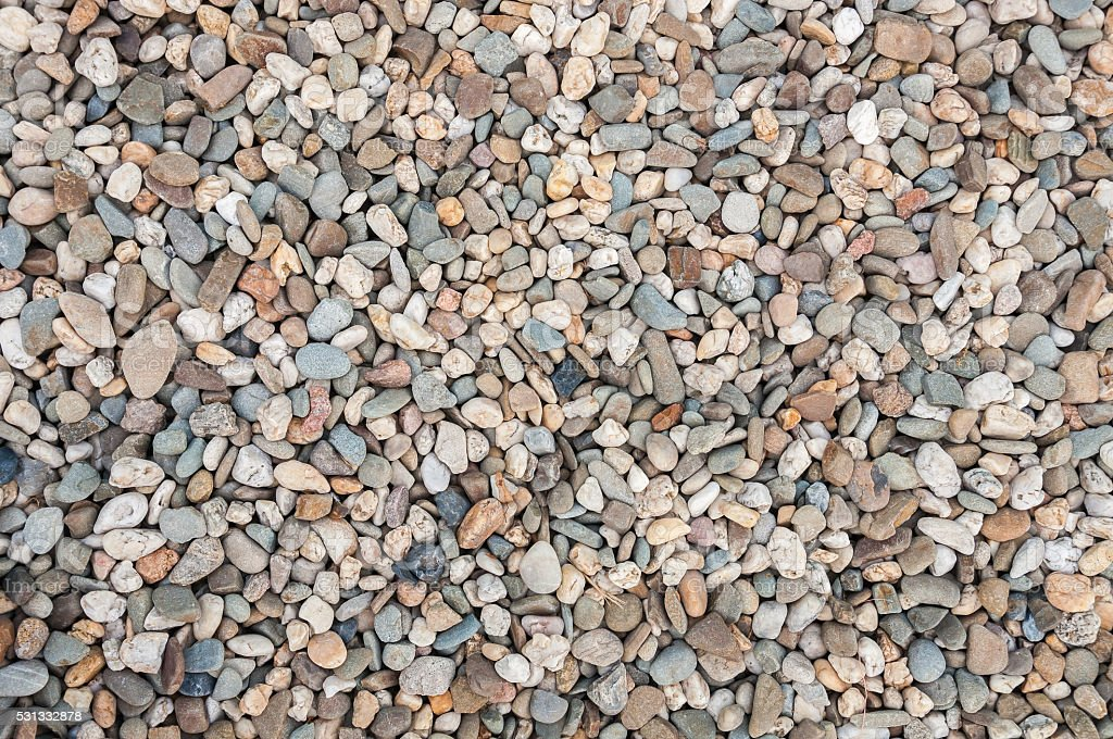 Background made of multicolored pebbles stock photo
