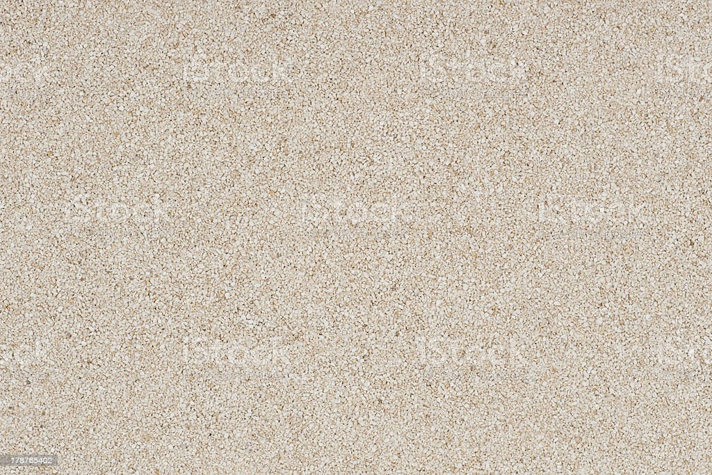 Background made of white decorative sand. stock photo
