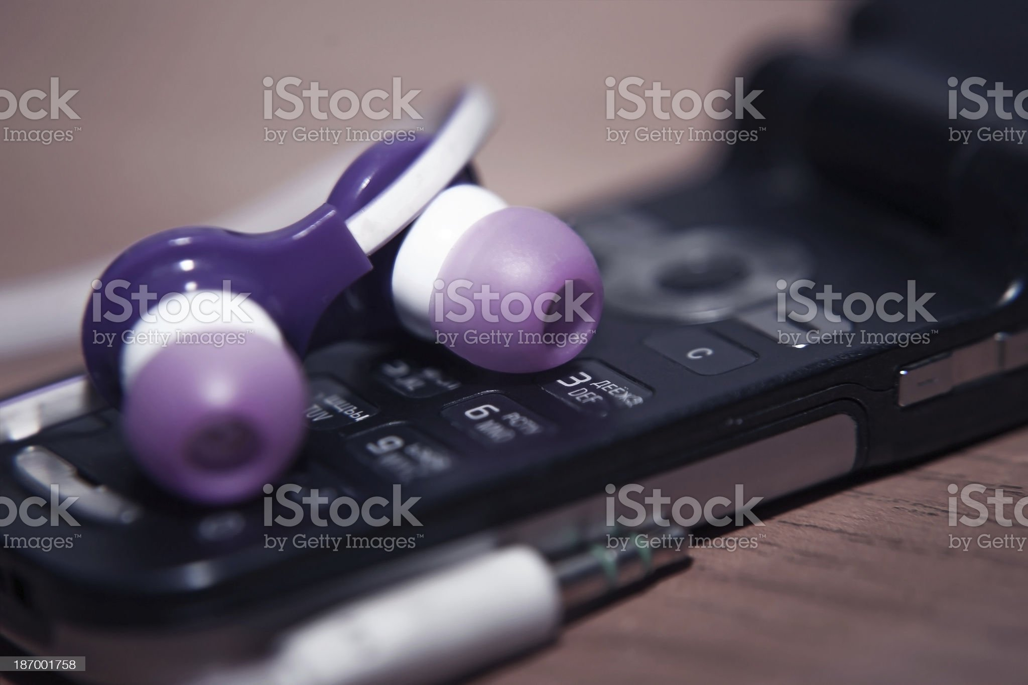 background music lover royalty-free stock photo