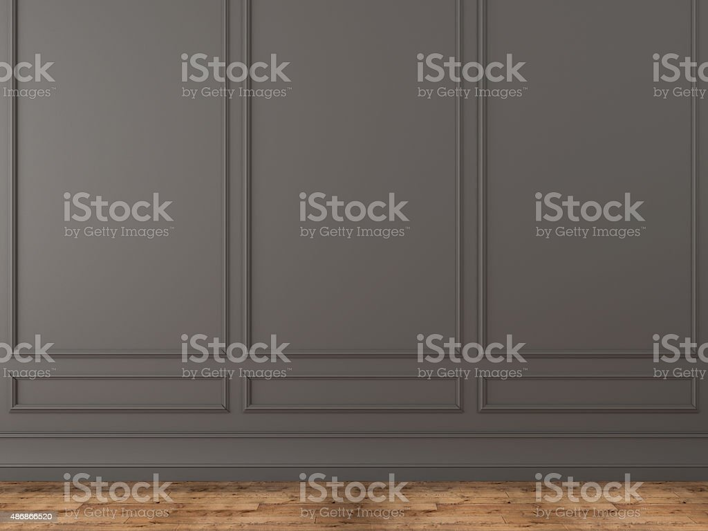 Background of a classic gray wall stock photo