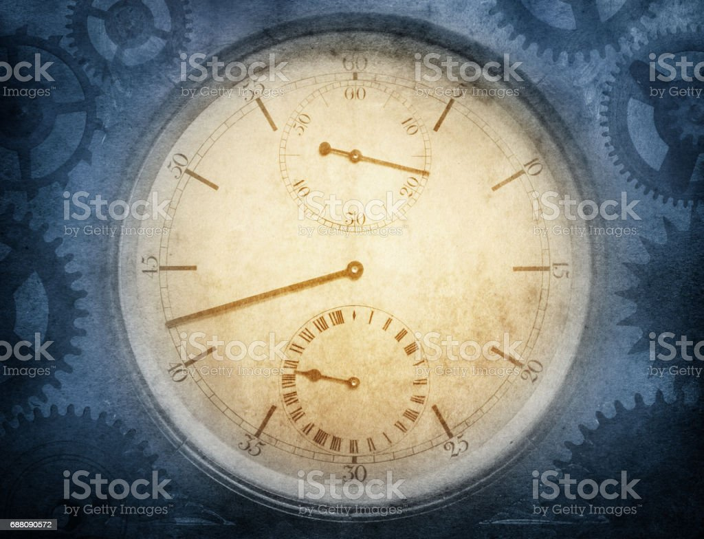 Background of a clock stock photo