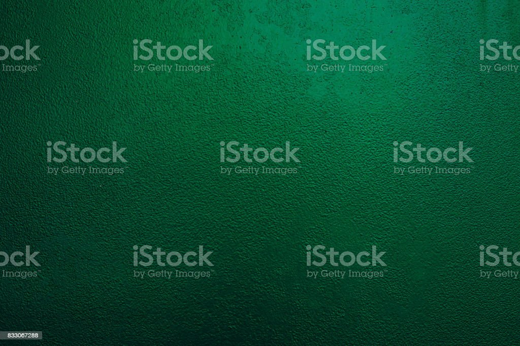 Background of a painted green iron metal sheet iron texture stock photo