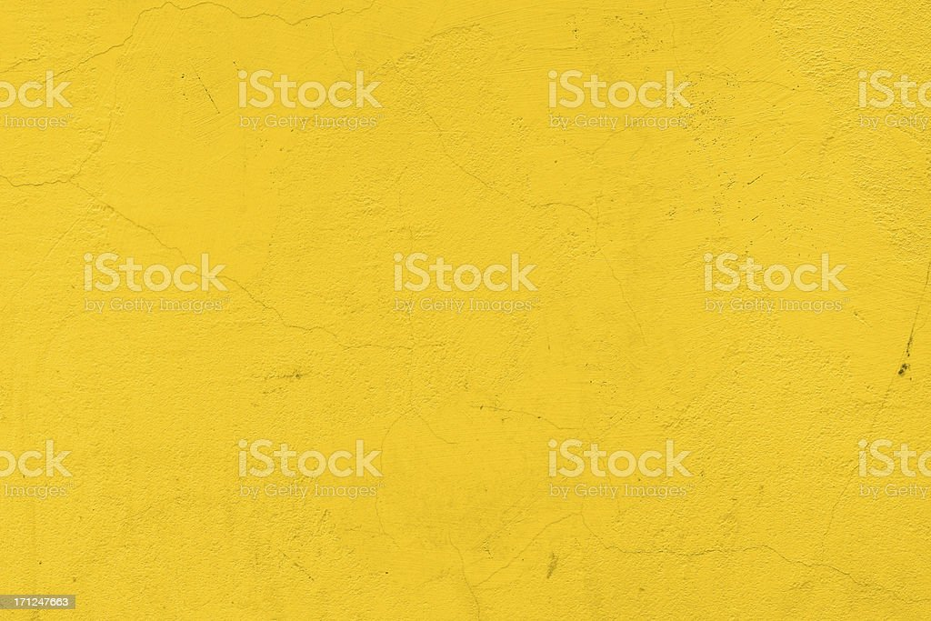 A background of a plain yellow wall stock photo