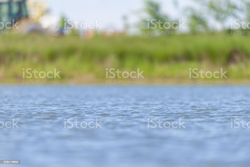 Background of a Pond stock photo
