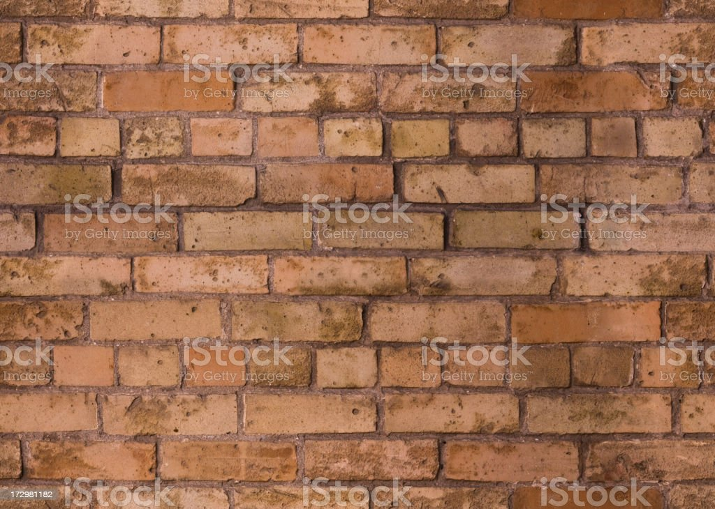 Background of a seamless red brick pattern royalty-free stock photo