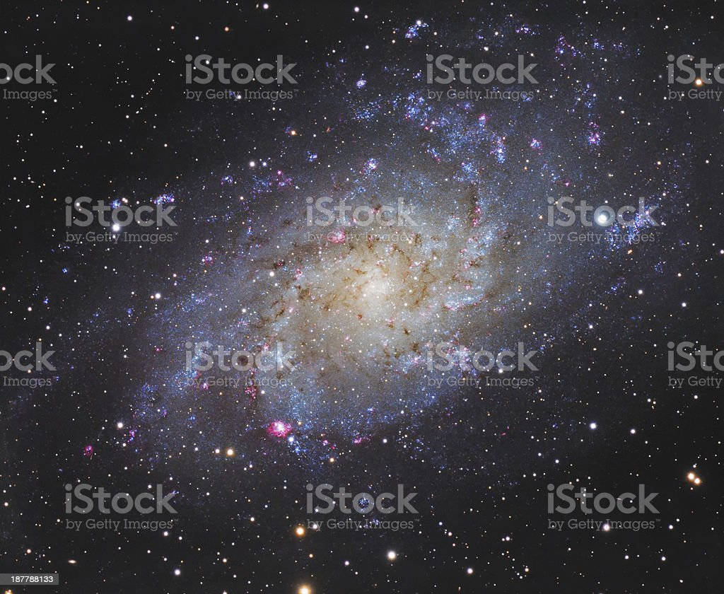 Background of a space galaxy photo stock photo
