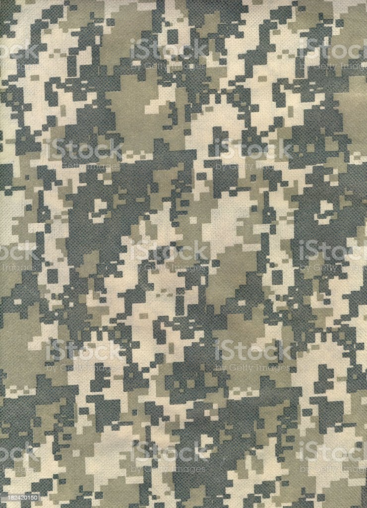 Background of advanced combat uniform camouflage pattern stock photo