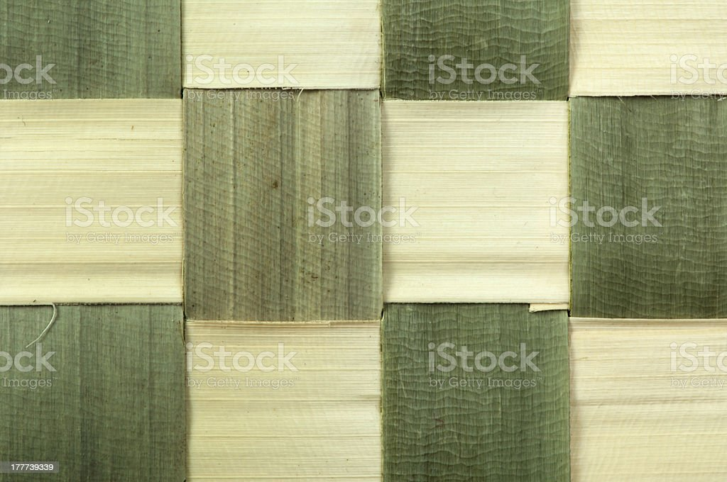Background of bamboo strips royalty-free stock photo