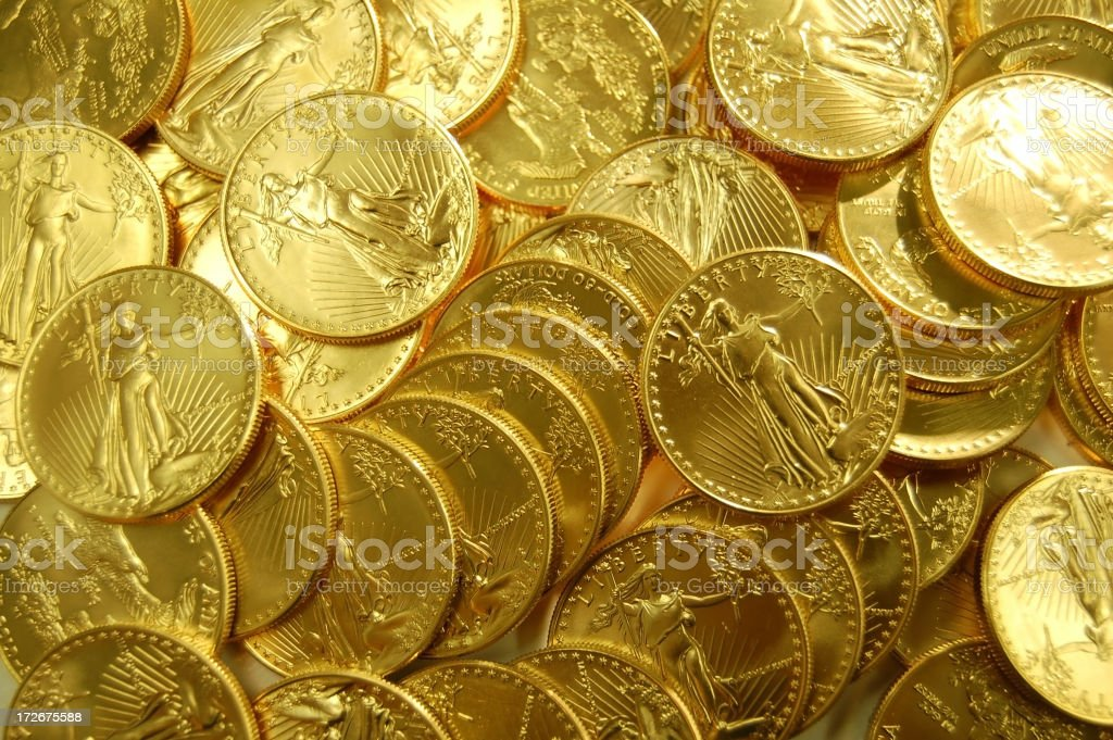 Background of Beautiful Gold stock photo