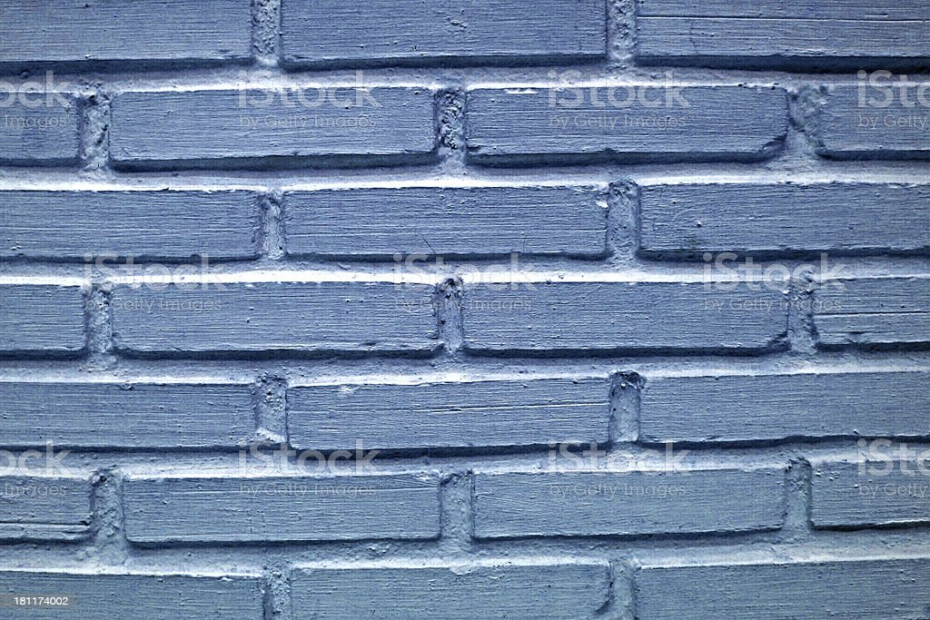 Background of blue stone wall texture royalty-free stock photo