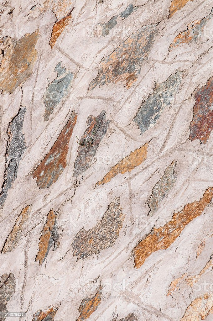 background of bright stone wall mosaic texture royalty-free stock photo