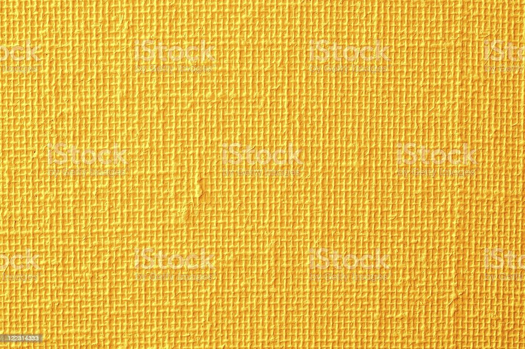 Background of bright yellow fabric royalty-free stock photo