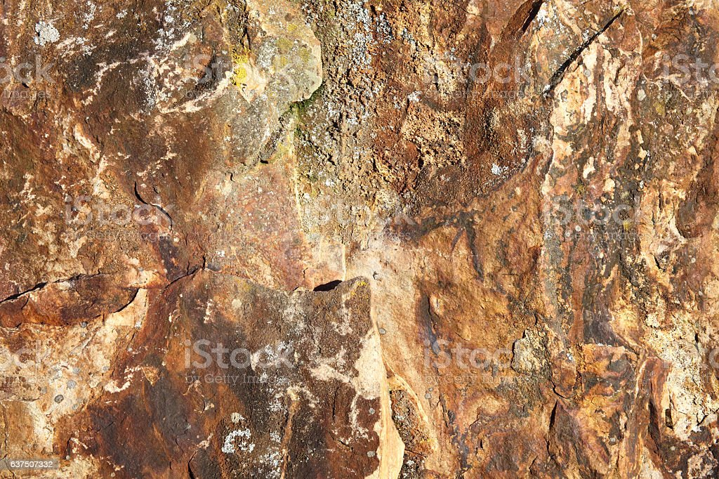 Background of bronze age weathered standing stone stock photo