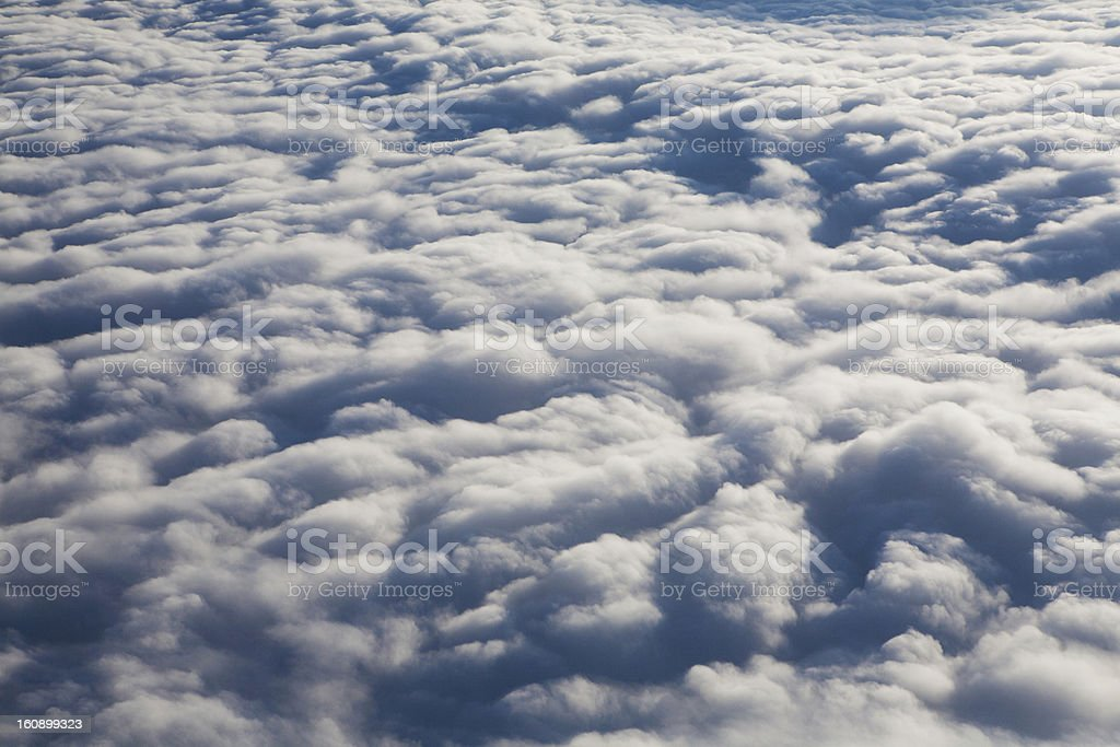 background of clouds royalty-free stock photo