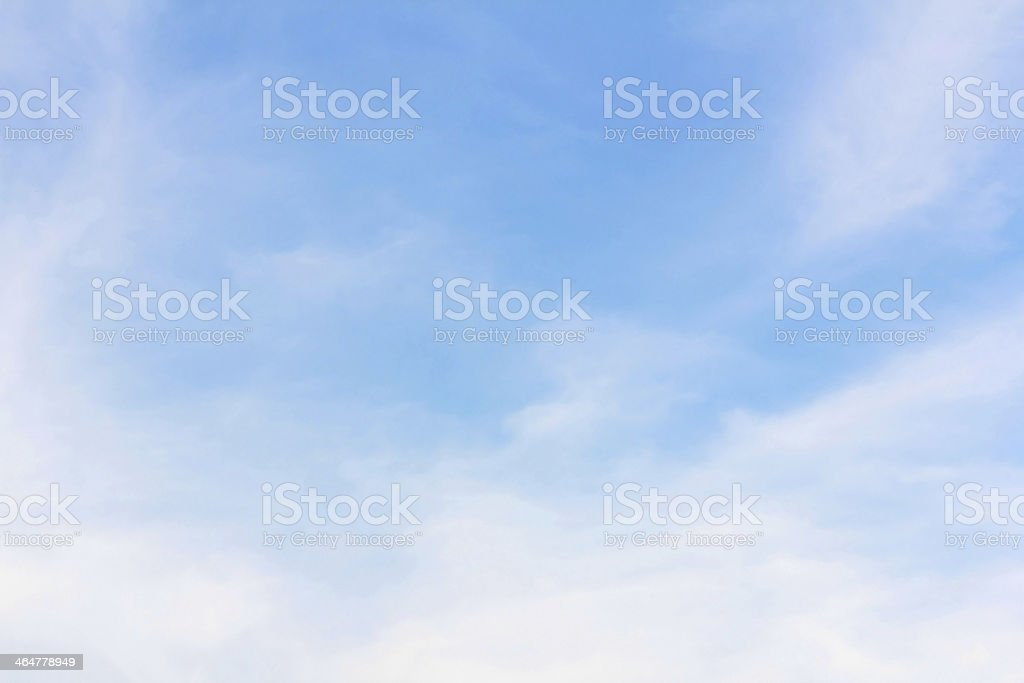 background of  cloudy blue sky stock photo