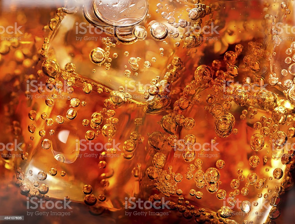 Background of cola stock photo