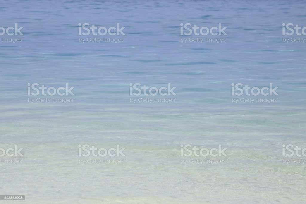 background of crystal clear sea stock photo