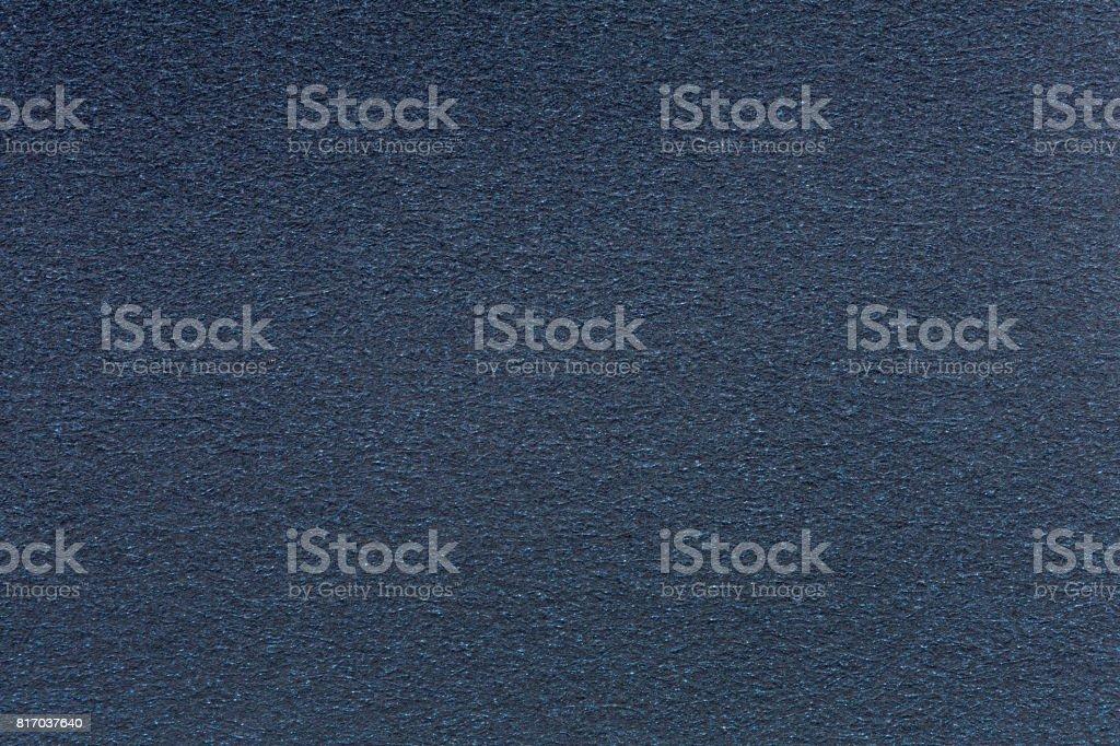 Background of dark blue velvet stock photo