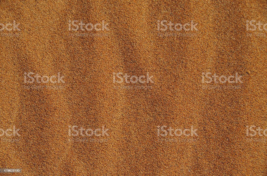 Background of desert sand in a sunny day stock photo