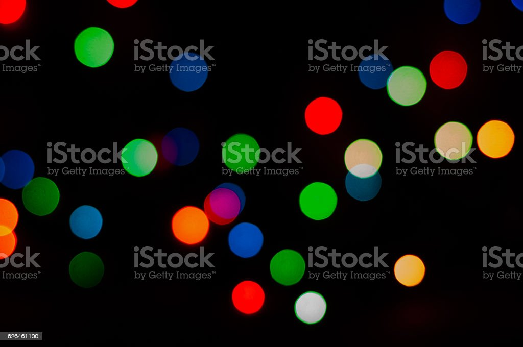 background of different color lights stock photo