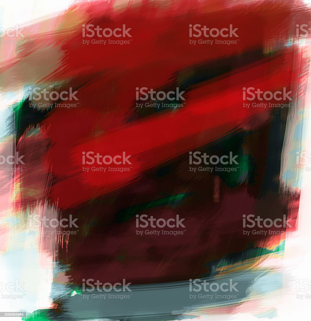 Background of digital black and  red abstract art. vector art illustration