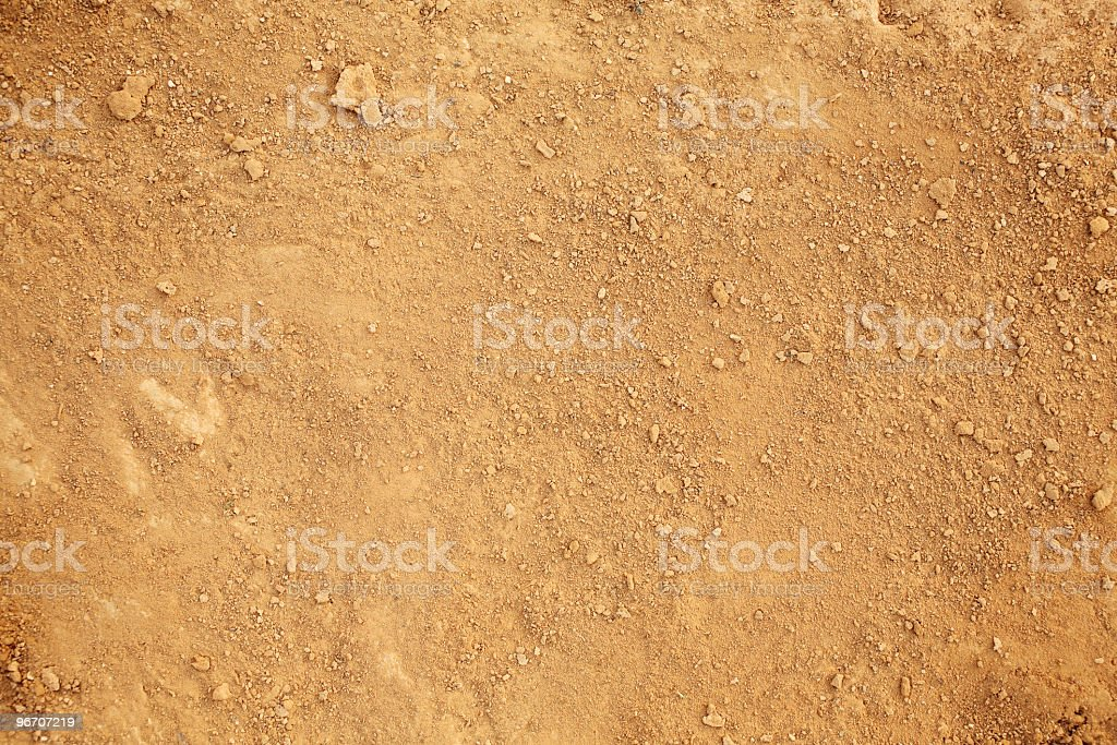 Background of earth and dirt stock photo