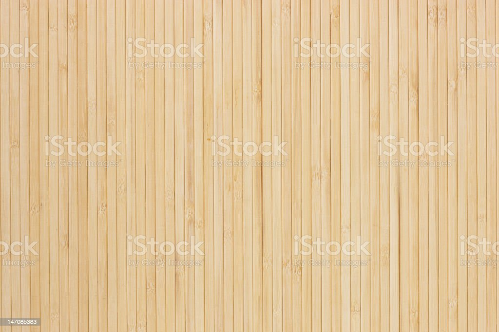Background of fine strip bamboo texture stock photo