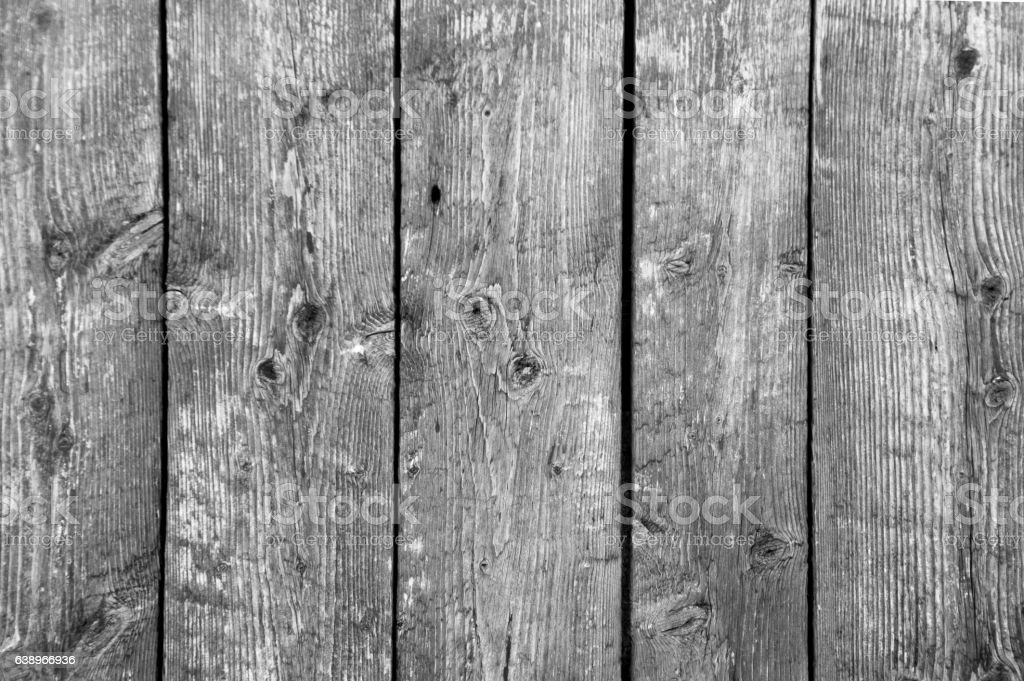 Background of five vertical barn boards b/w stock photo