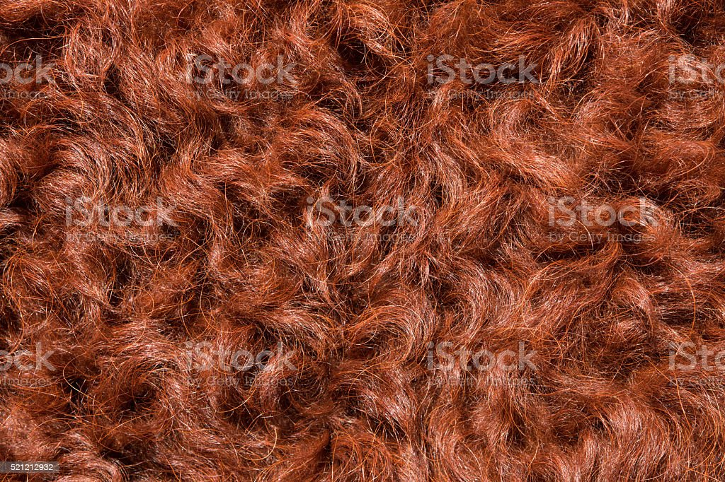 Background of goat hair stock photo