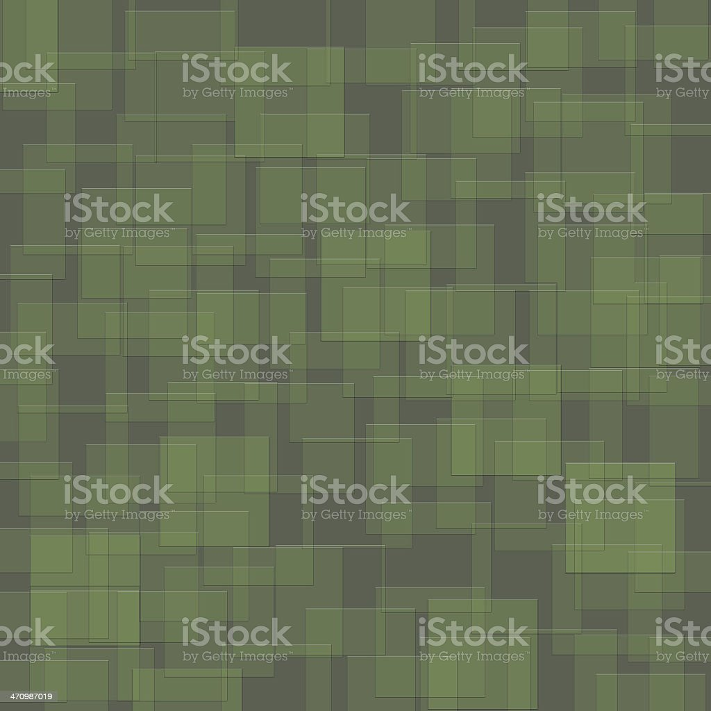 Background of Green Squares royalty-free stock photo