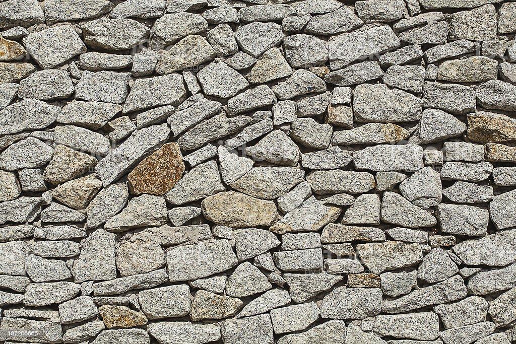 Background of grey stones royalty-free stock photo