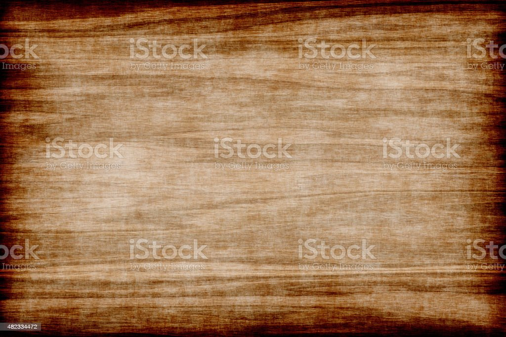Background of grunge wood texture with burnt board stock photo