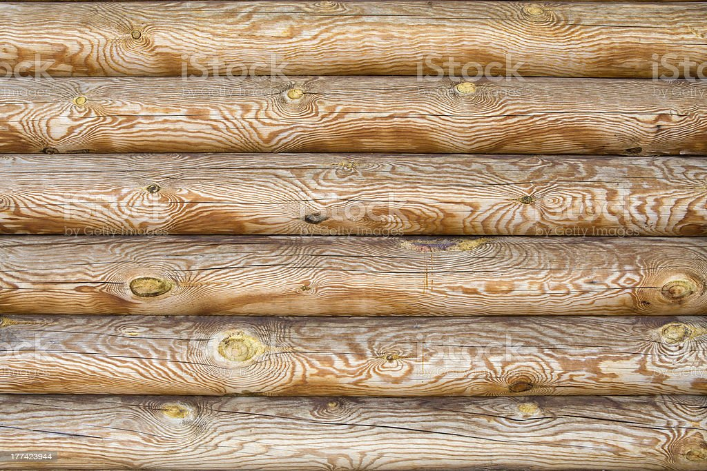 Background of logs royalty-free stock photo