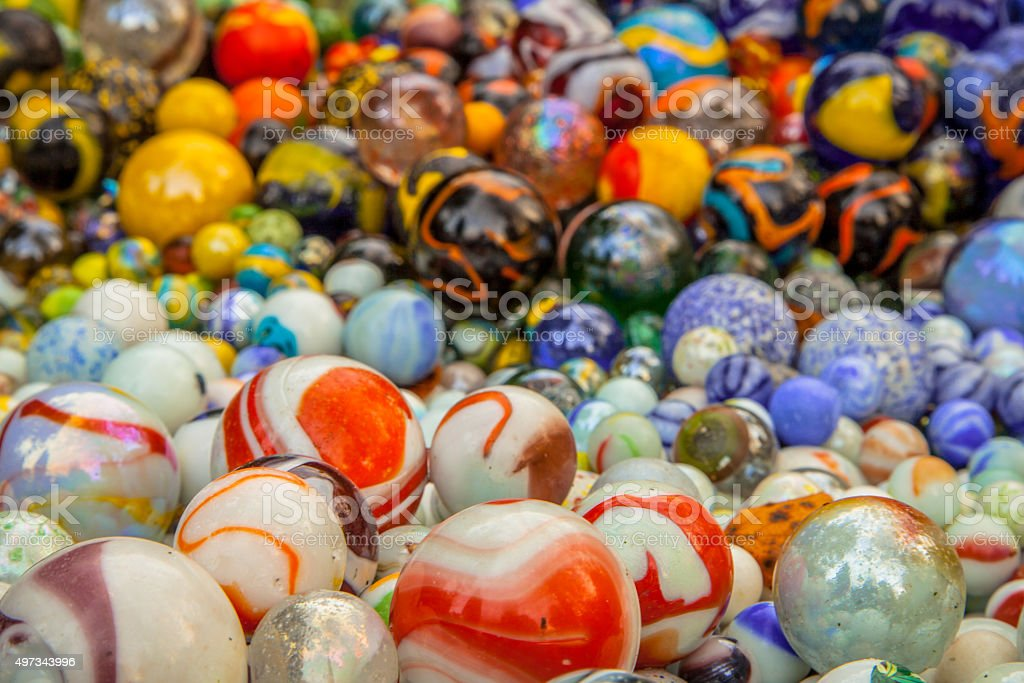 Background of marbles stock photo