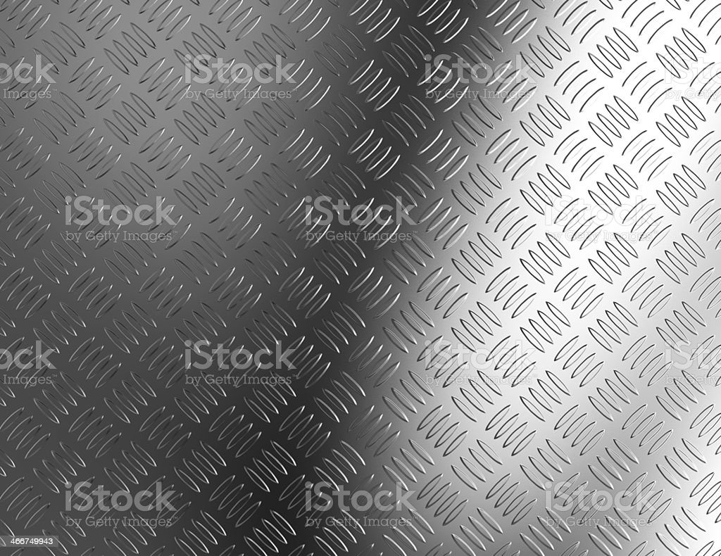 Background of metal diamond plate. stock photo