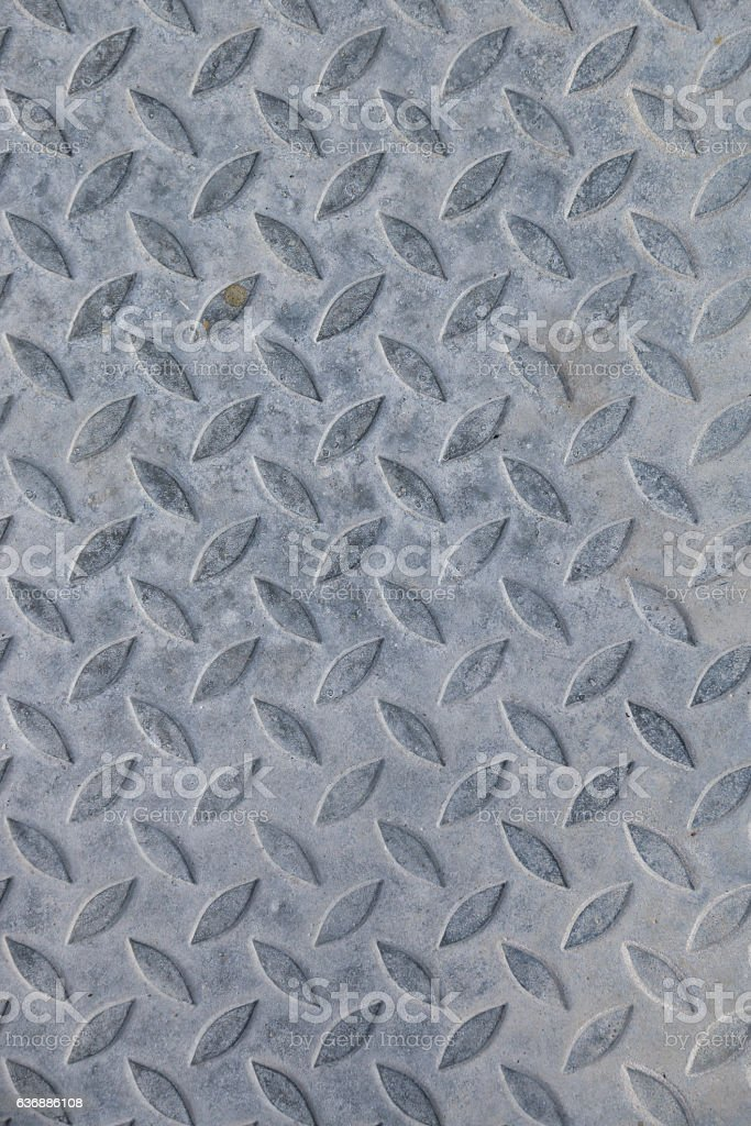 Background of metal plate gray colour stock photo