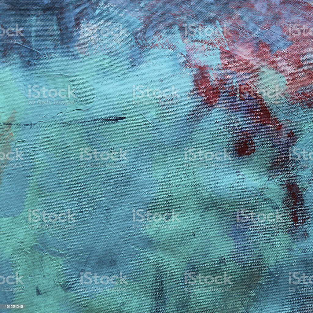 A background of multi colored acrylic including blue stock photo