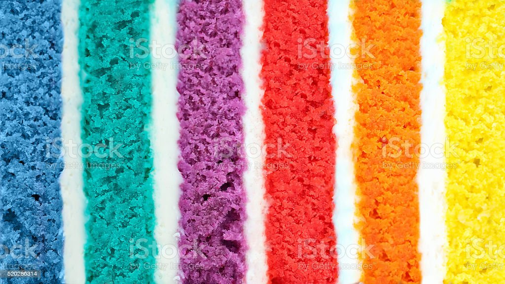 Background of multicolor  cake stock photo