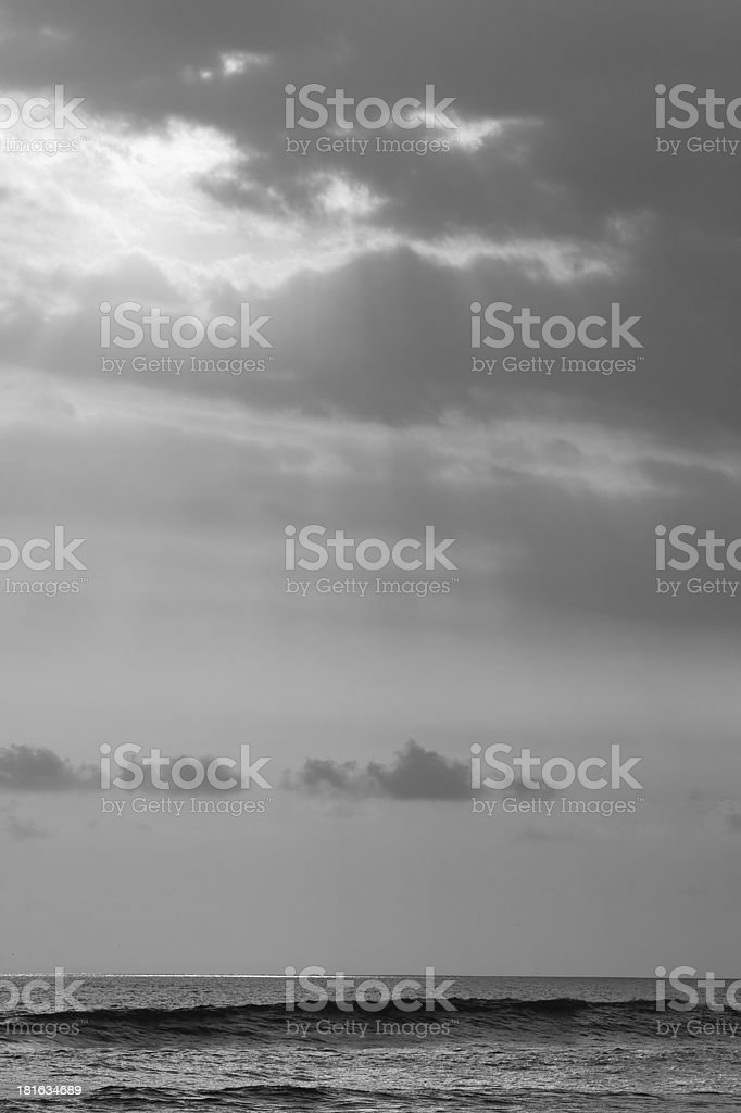 background of ocean, Bali, Indonesia royalty-free stock photo