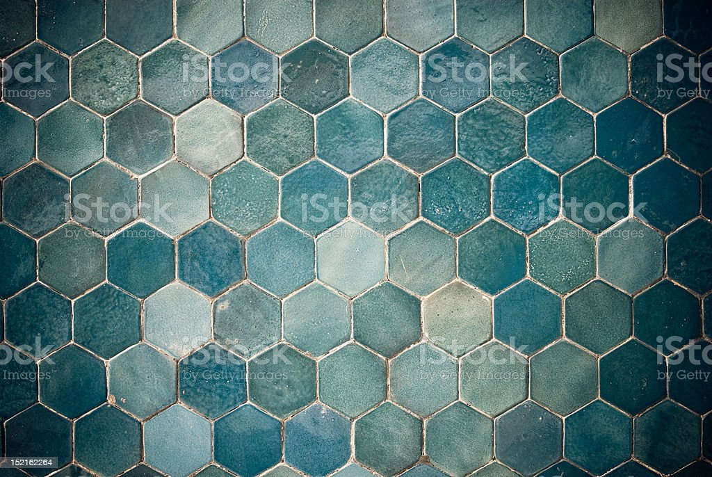 Background of old grunge tiles royalty-free stock photo