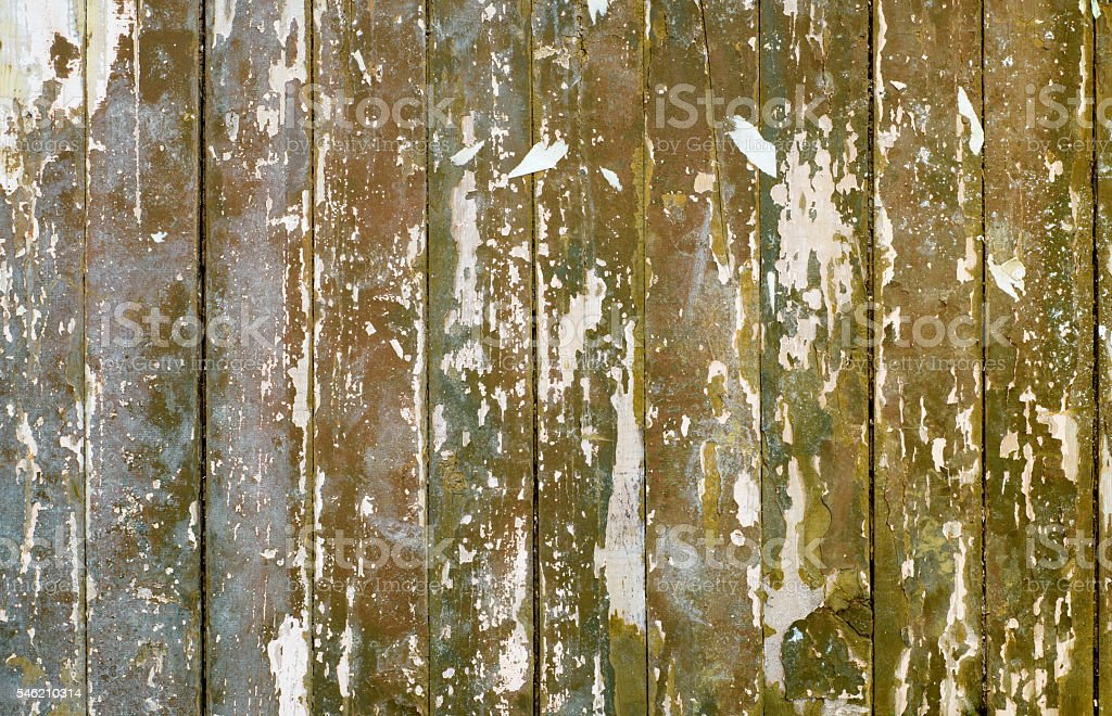 background of old painted wooden planks stock photo