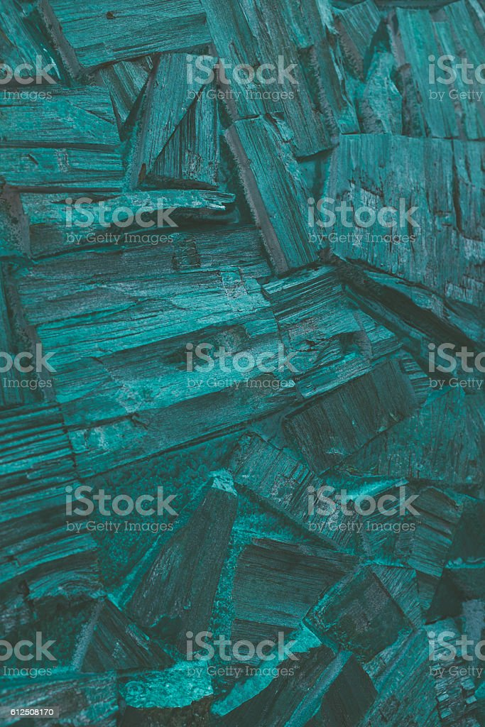 background of painted splitted wood pieces. stock photo