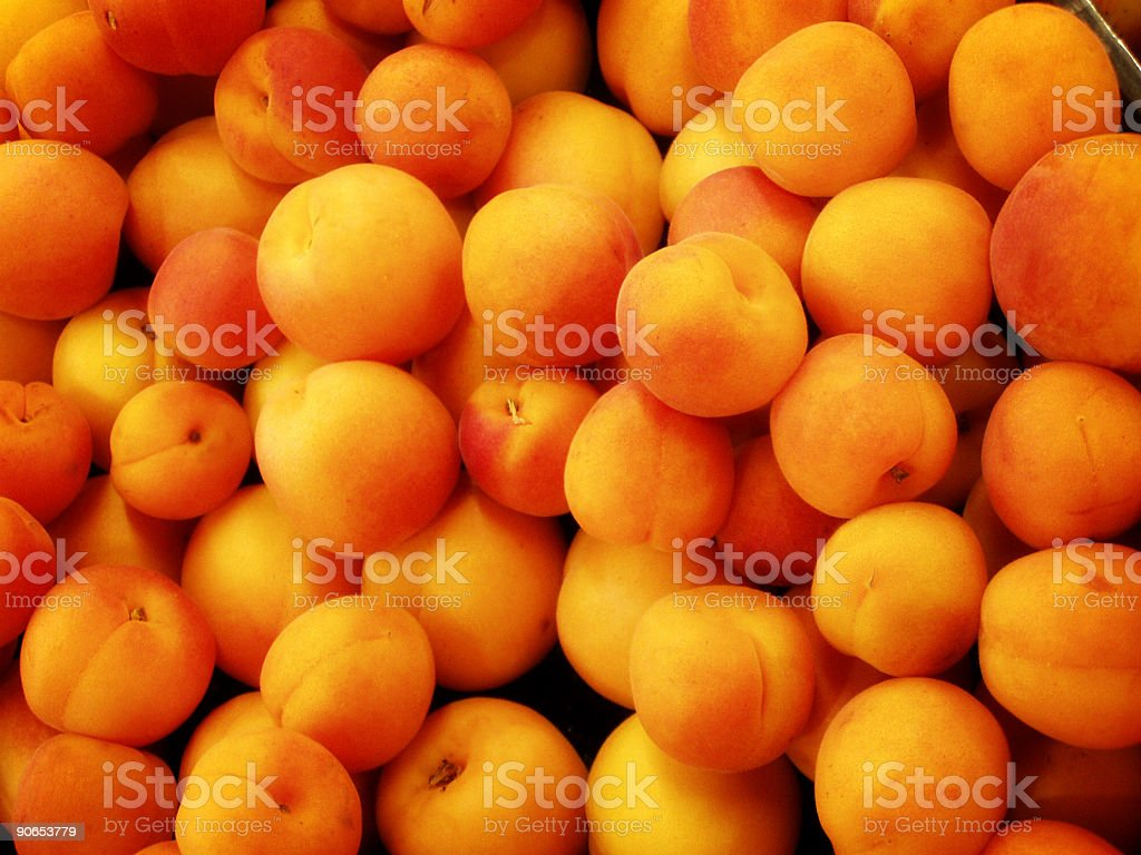 Background of Peaches royalty-free stock photo