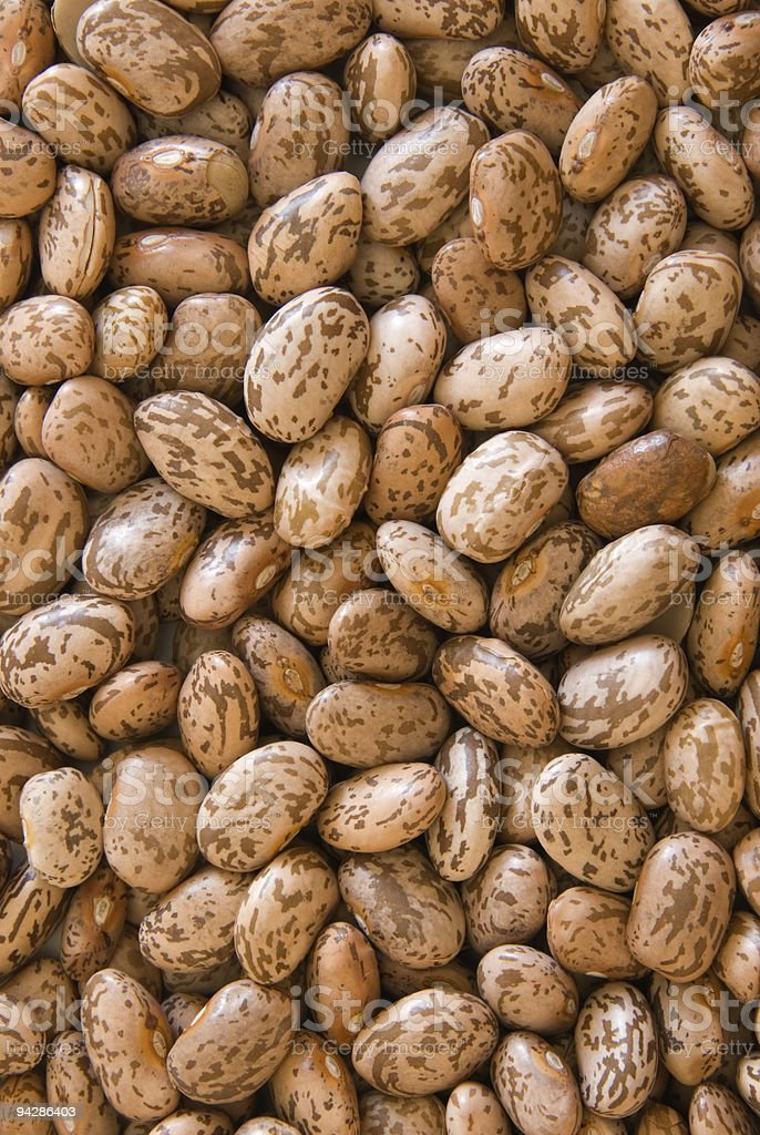 Background of pinto beans stock photo